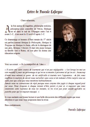 Editorial de la revue 46